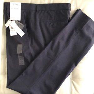 NWT Calvin Klein Infinite Slim-fit pants 33x34
